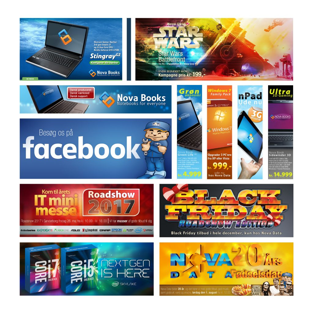 Web Banners Affiliate Banners clickTag Interactive Digital Banners
