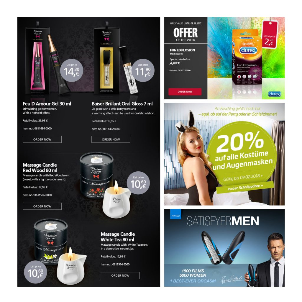 Newsletter Graphics Newsletter Design Web Banners Affiliate Banners clickTag Interactive Digital Banners eCommerce