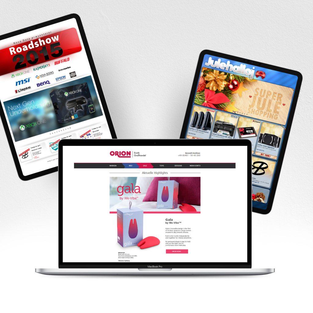 Web Design Digital Design Websites Landingpages HTML5 CSS3 Responsive Design JQuery