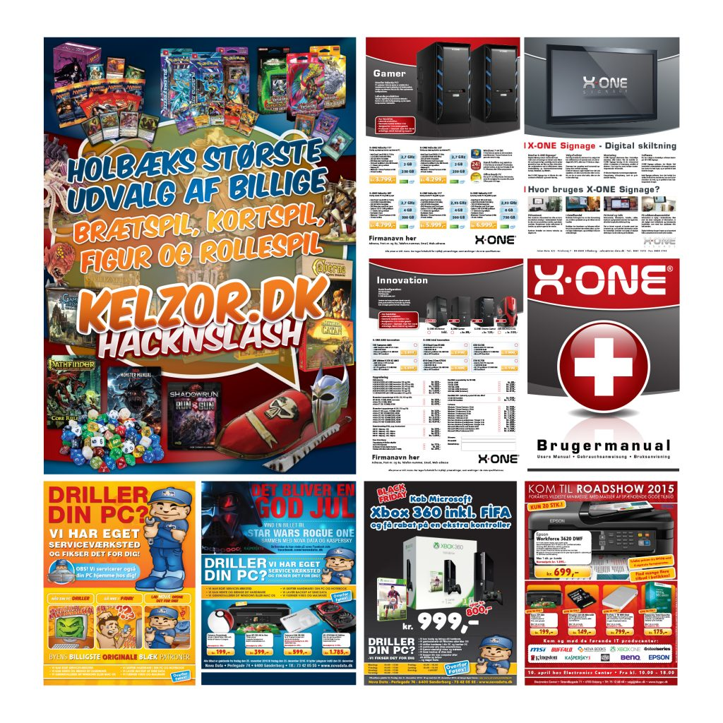 Newspaper Ads Magazine Ads Posters Displays