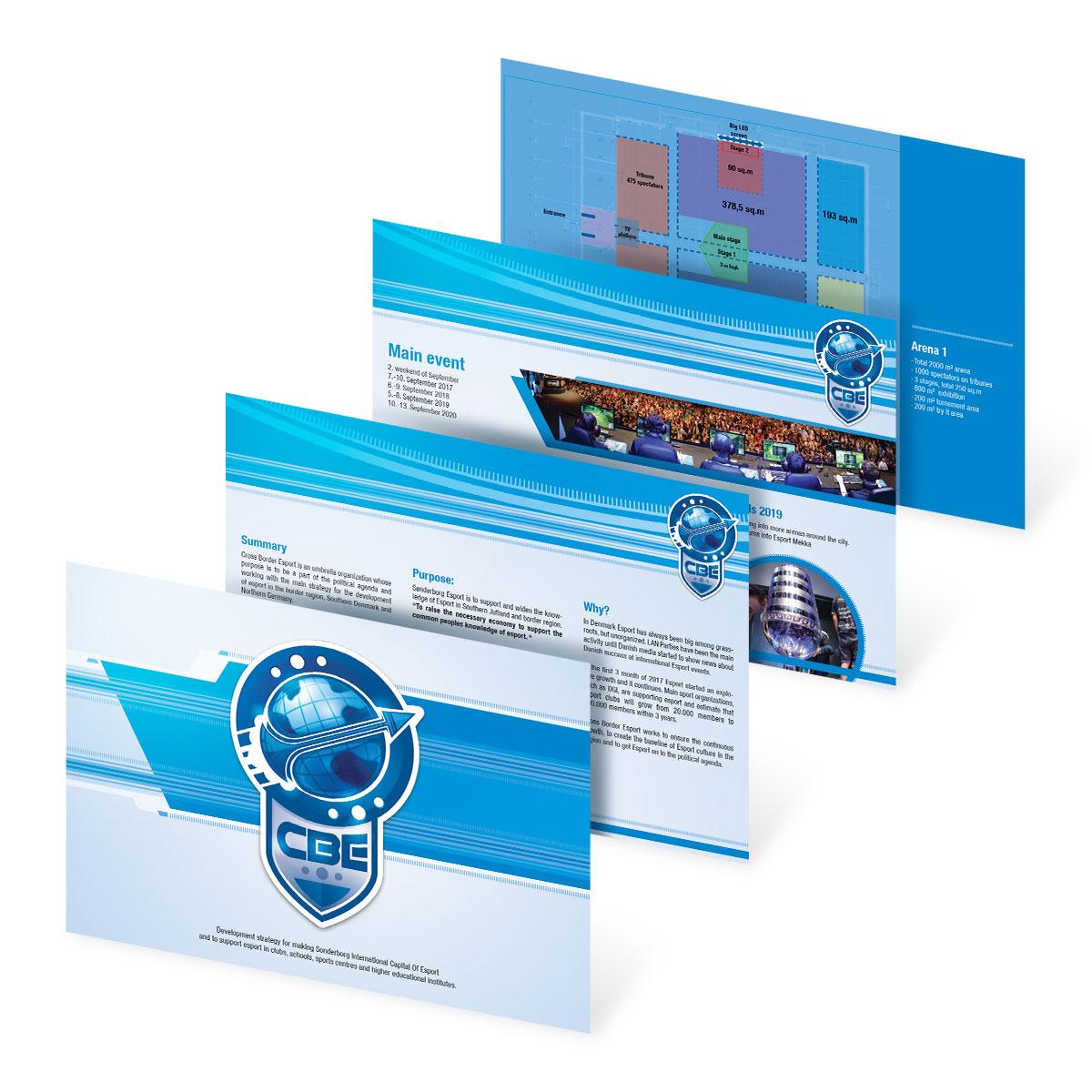 Info Brouchures Folder