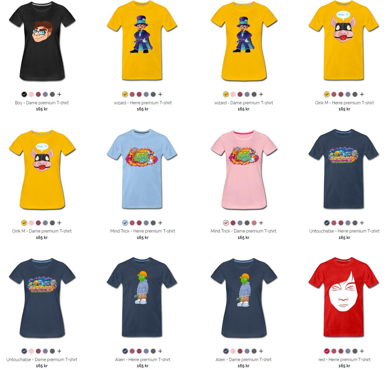 Merch – Shirts and stuff