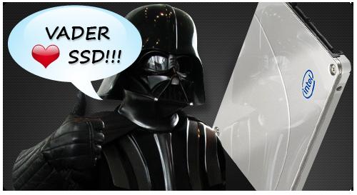 Vader <3′s SSD