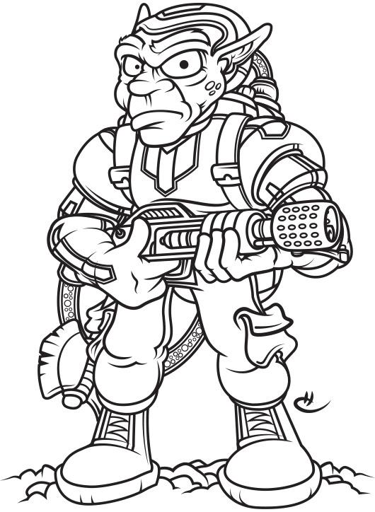 Peace, Love, and Fire Goblin