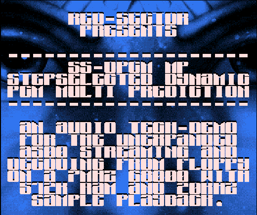 New Red Sector Amiga Demo