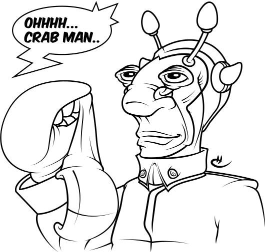 Crab… man