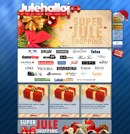 Holiday campaign site