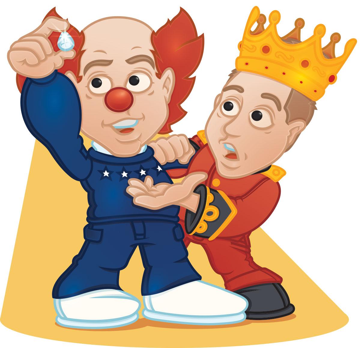 Klovnen og Kronprinsen