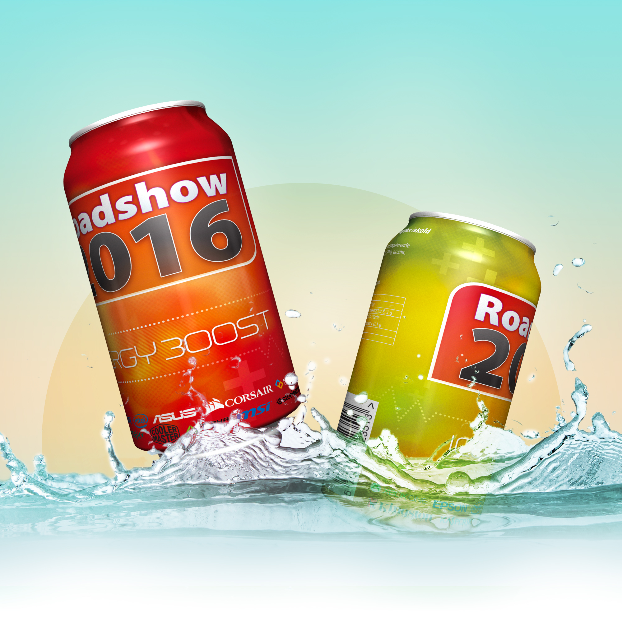 Beverage Label Product Design